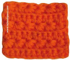 Cómo tejer el punto flores de manzanilla a crochet