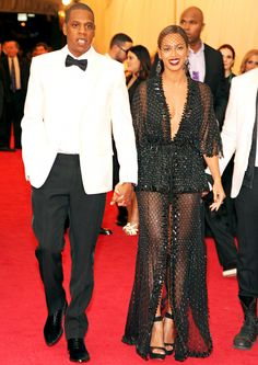 Beyonce and Jay Z looked flawless at the Met Gala together!