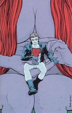 Madman by Frank Quitely