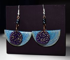 Earrings #polymerclay #fimo #handmade #madeinslovenia #earrings
