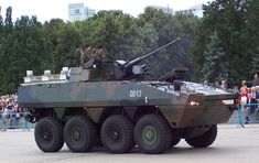 KTO Rosomak Wheeled Armored Vehicle (Poland)
