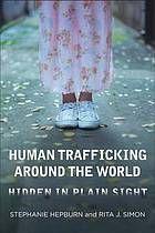 Human trafficking around the world : hidden in plain sight by Stephanie Hepburn & Rita J. Simon @ 364.15 H41 2013