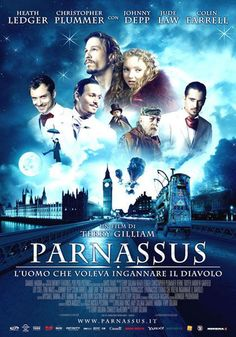 El imaginario mundo del Dr. Parnasus