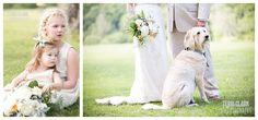 #Flowergirl portrait paired with #bride and #groom.