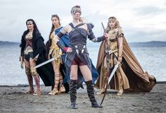 This Wonder Woman Group Cosplay Is Something Special