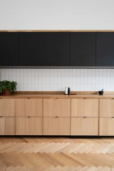 Ikea Kitchen Cabinets, Wooden Cabinets, Custom Cabinets, Black Ikea Kitchen, Kitchen Wood, Open Kitchen, Ikea Ekestad, Interior Desing, Interior Inspiration