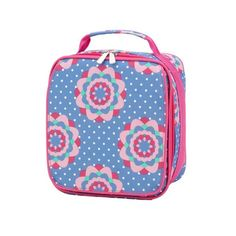 4216dfd688 Our Zoey Lunch Bag has an easy to clean lining along with a zipper closure.