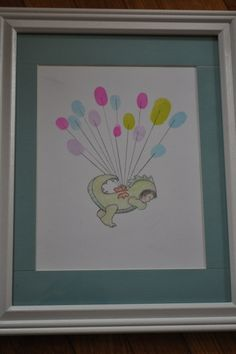 For a baby shower to decorate their room! Too cute!