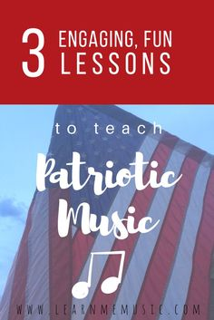 Patriotic Music Resources for Patriot Day and Veteran's Day