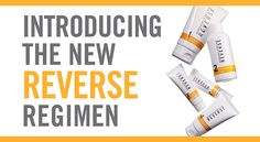 Our new and improved REVERSE Regimen for the appearance of brown spots, dullness and discoloration is now available (RVRGG01). Based on Multi-Med® Therapy, REVERSE is an effective, full-face solution that addresses the appearance of unwanted pigmentation, helps even and brighten the overall look of skin tone, and also reduces the appearance of fine lines and wrinkles. Http://lromano.myrandf.com