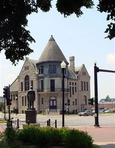 This was the Library when I was a child...one of my favorite places in town! Now a museum. Quincy, IL