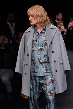 Zoolander Hits Valentino Runway [Photo by Giovanni Giannoni]