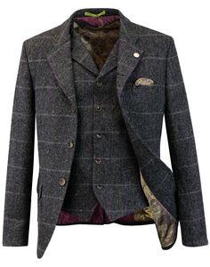 Grouse GIBSON LONDON Matching Blazer & Waistcoat C