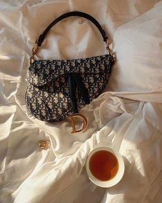 Aesthetic Bags, Beige Aesthetic, Luxury Purses, Luxury Bags, Dior Saddle Bag, Saddle Bags, Mode Vintage, Vintage Bags, Vintage Dior Bag