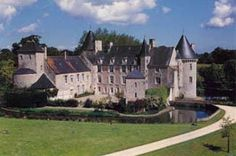 Castle Hotel in Normandy: chateau de colombieres
