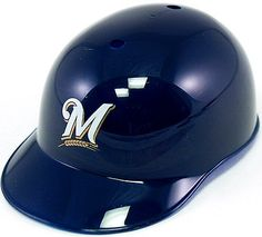 Milwaukee Brewers Rawlings Souvenir Full Size BLUE Batting Helmet
