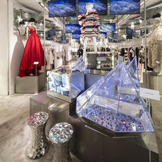 "SWAROVSKI,Florence,Italy, ""Inspired by Swarovski at the Luisa Via Roma concept store in Florence"", pinned by Ton van der Veer"