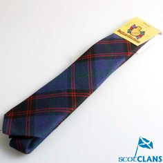 Gents Wool Tartan Tie