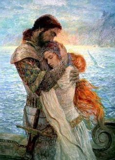in the Century wifes-sir: THE VIKING WOMEN, unlike women in other parts of Europe, viking women were not a piece of property that could be bartered for ga. Morewifes-sir: THE VIKING WOMEN, unlike women in other p. Hai Illustration, Illustrations, Tristan Et Iseult, Courtly Love, Art Ancien, Pre Raphaelite, Chivalry, Fantasy Art, Fairy Tales