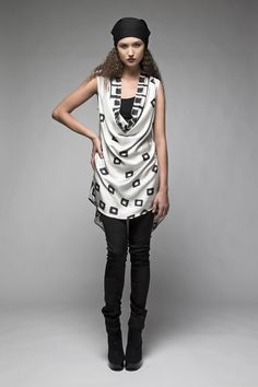 Taylor 'Follow the line' collection, Winter 2013 www.taylorboutique.co.nz Taylor Boutique - Movida Cowl Tunic Dress