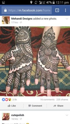 Latest Mehndi Designs For Engagement In 2020 Mehndi Designs For Girls, Indian Mehndi Designs, Mehndi Designs 2018, Modern Mehndi Designs, Wedding Mehndi Designs, Mehandi Designs, Tattoo Designs, Modern Henna, Rangoli Designs