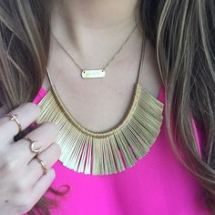 The Essential Fringe necklace is brand new TODAY and goes with everything.  et infos sur  http://ift.tt/1P5gAbZ  http://ift.tt/1lmkJx3 #stelladotstylist #stellaanddot #stelladotfr #Stelladot #stelladotstyle