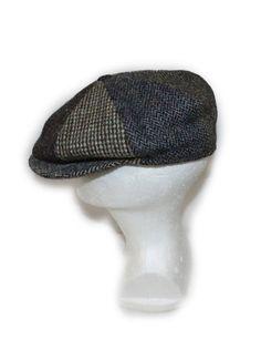 d9bac25e9e3 Mens Hat newsboy Tweed hat 8 panel Unisex drivers cap Cabbie hat Womens  Harris tweed XL hat Groomsmens hat Rustic wedding photo prop