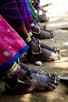 Indian feet | ©Ian Mitchinson