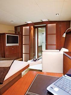 Hanse from Germany Hanse Yachts, Sailboat Yacht, Building Companies, Motor Yacht, Sailboats, Bunk Beds, Master Bedroom, Germany, Modern