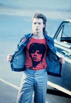 A 16 year old Sid Vicious going to a David Bowie concert at Earls Court, 1973