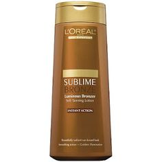 Buy 1 Get 1 50% OFF L'ORÉAL Body Expertise Sublime Bronze Luminous Bronzer Self-Tanning Lotion $10.99 and extra Ulta coupons 3.50 off 10