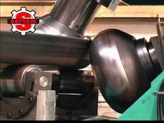 Flanging & Dishing Line by Sertom Italy rep. Sheet Metal Tools, Metal Bending Tools, Metal Working Tools, Metal Fabrication Tools, Welding Gear, Metal Shaping, Blacksmith Tools, Vintage Tools, Tools And Equipment