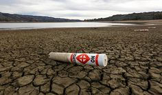 A warning buoy sits on the dry, cracked bed of Lake Mendocino in February 2014 near Ukiah, Calif. - AP Photo/Rich Pedroncelli