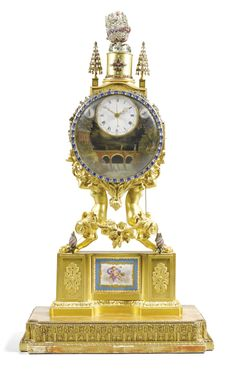 An important and rare quarter striking and musical automaton ormolu table clock, William Carpenter, London, circa 1780 and later  Vendido 301,250 GBP