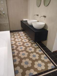 Toilet badkamer on pinterest tile toilets and grey tiles - Deco toilet ideeen ...