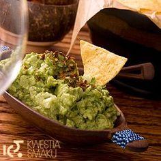 Guacamole. Przepis na guacamole.