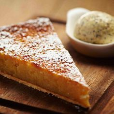 The perfect dessert for the sweet-toothed is a treacle tart.