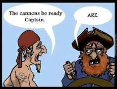 Pirate grammar police! Roflmao