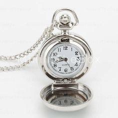 Relógios de quartzo Colar com cavalo (prata) - 2