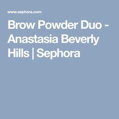 Brow Powder Duo - Anastasia Beverly Hills | Sephora