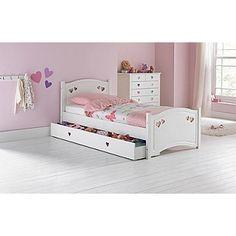 Buy Tilly 2 Drawer Single Cabin Bed White at Argos.co.uk