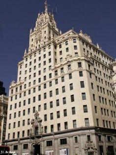 Edificio de la Telefónica, Madrid España.