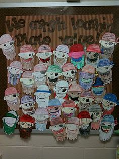 Tales of Frogs and Cupcakes: Pirate Place Value Bulletin Board Fun Math, Math Games, Math Activities, Math Resources, Pirate Activities, Math Math, Math Fractions, Classroom Resources, Math Worksheets