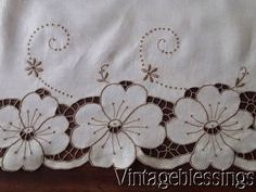 detail cutwork lace