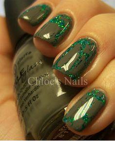 ooooh, crackle & glitter!!
