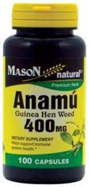 Anamu 400 mg 100 Capsules  from PipingRock.com