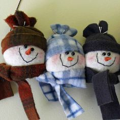 Snowman Head Wall Hanging by SnowmanCollector
