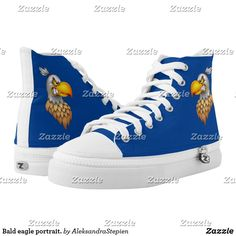 Yellow And Brown, Red White Blue, Custom Sneakers, Top Shoes, Bald Eagle, Converse Chuck Taylor, High Tops, High Top Sneakers, Pairs