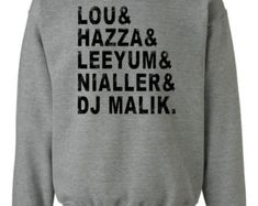 Items similar to One Direction Inspired Sweatshirt Legacy on Etsy One Direction Merch, One Direction Facts, One Direction Outfits, One Direction Wallpaper, One Direction Imagines, One Direction Pictures, 1d Names, Sweat Shirt, Fresh Tops