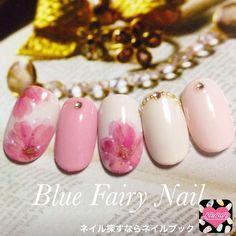ネイル 画像 Blue Fairy Nail ブルーフェアリーネイル 千里丘 415959